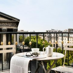 Отель Madeleine Plaza Париж балкон