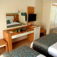 The Colours Side Hotel Турция, Сиде - отзывы, цены и фото номеров - забронировать отель The Colours Side Hotel онлайн удобства в номере фото 2
