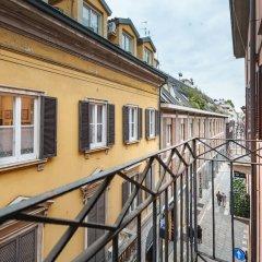 Отель easyhomes - Spiga Suite Италия, Милан - отзывы, цены и фото номеров - забронировать отель easyhomes - Spiga Suite онлайн балкон