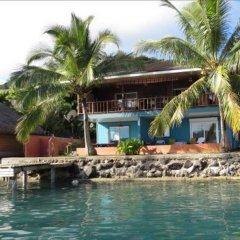 Отель Sunset Hill Lodge Французская Полинезия, Бора-Бора - отзывы, цены и фото номеров - забронировать отель Sunset Hill Lodge онлайн пляж фото 3