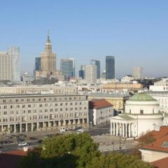 Отель Four Points by Sheraton Warsaw Mokotow балкон