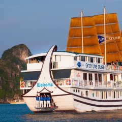Отель Gray Line Halong Cruise Халонг приотельная территория фото 2