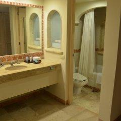 Отель Grand Park Royal Luxury Resort Cancun Caribe Мексика, Канкун - 3 отзыва об отеле, цены и фото номеров - забронировать отель Grand Park Royal Luxury Resort Cancun Caribe онлайн ванная фото 5