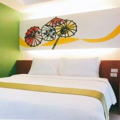 Отель Patra Boutique Бангкок комната для гостей фото 3