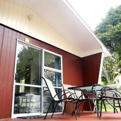 Отель Whanganui River Top 10 Holiday Park балкон