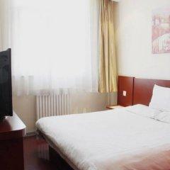 Отель Hanting Express Hotel Beijing Liufang Branch Китай, Пекин - отзывы, цены и фото номеров - забронировать отель Hanting Express Hotel Beijing Liufang Branch онлайн комната для гостей фото 5