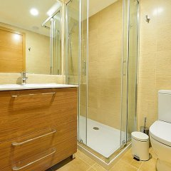 Отель Piso en Isla de la Toja Испания, Эль-Грове - отзывы, цены и фото номеров - забронировать отель Piso en Isla de la Toja онлайн ванная фото 2