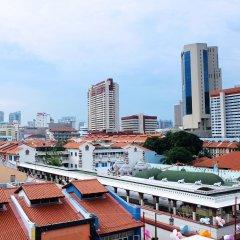 Отель 5footway.inn Project Ann Siang балкон