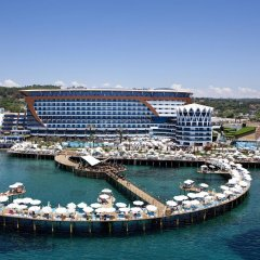 Granada Luxury Resort & Spa Турция, Аланья - 1 отзыв об отеле, цены и фото номеров - забронировать отель Granada Luxury Resort & Spa онлайн приотельная территория