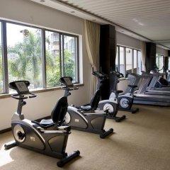 Отель Huahong Hotel Китай, Чжуншань - отзывы, цены и фото номеров - забронировать отель Huahong Hotel онлайн фитнесс-зал фото 2