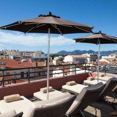 Отель Eden Hôtel & Spa Cannes Франция, Канны - отзывы, цены и фото номеров - забронировать отель Eden Hôtel & Spa Cannes онлайн бассейн фото 2