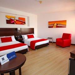 Отель Dann Carlton Cali Колумбия, Кали - отзывы, цены и фото номеров - забронировать отель Dann Carlton Cali онлайн комната для гостей фото 4