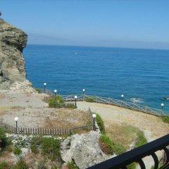 Hotel Ristorante La Scogliera Амантея пляж