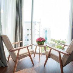 Отель Libra Nha Trang Hotel Вьетнам, Нячанг - отзывы, цены и фото номеров - забронировать отель Libra Nha Trang Hotel онлайн балкон