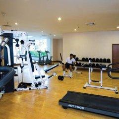 Отель Jomtien Palm Beach Hotel And Resort Таиланд, Паттайя - 10 отзывов об отеле, цены и фото номеров - забронировать отель Jomtien Palm Beach Hotel And Resort онлайн фитнесс-зал фото 3