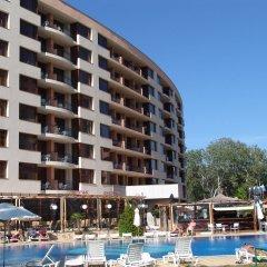 Отель Aparthotel Poseidon бассейн