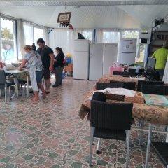 Отель Mavi Cennet Camping Pansiyon Сиде интерьер отеля