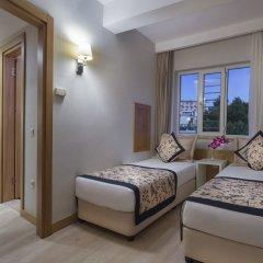 Отель Trendy Palm Beach - All Inclusive Сиде комната для гостей фото 5