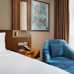 Гостиница Hilton Astana Казахстан, Нур-Султан - 3 отзыва об отеле, цены и фото номеров - забронировать гостиницу Hilton Astana онлайн комната для гостей фото 3