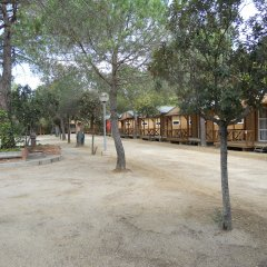 Отель Camping Santa Elena Ciutat Испания, Льорет-де-Мар - отзывы, цены и фото номеров - забронировать отель Camping Santa Elena Ciutat онлайн парковка