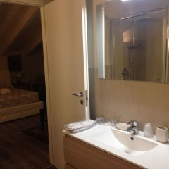 Отель Villa Abbamer Италия, Гроттаферрата - отзывы, цены и фото номеров - забронировать отель Villa Abbamer онлайн ванная