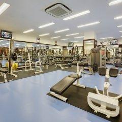 Марриотт Гранд Отель фитнесс-зал