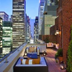 Отель Omni Berkshire Place США, Нью-Йорк - отзывы, цены и фото номеров - забронировать отель Omni Berkshire Place онлайн балкон