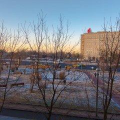 Отель ApartExpo on Pobedy Square 1B Москва приотельная территория