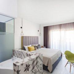 Отель Blue Bottle Boutique Hotel Греция, Салоники - отзывы, цены и фото номеров - забронировать отель Blue Bottle Boutique Hotel онлайн комната для гостей фото 2