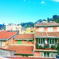 Отель Studio Vieux Nice calme & climatisé Франция, Ницца - отзывы, цены и фото номеров - забронировать отель Studio Vieux Nice calme & climatisé онлайн балкон