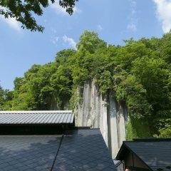 Отель Kurokawaso Минамиогуни приотельная территория