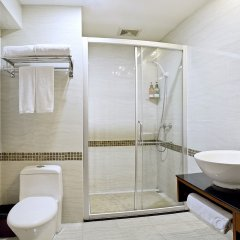 Paco Business Hotel Jiangtai Metro Station Branch ванная фото 2