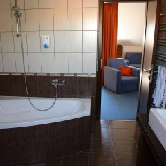 Отель Prestige House Венгрия, Хевиз - отзывы, цены и фото номеров - забронировать отель Prestige House онлайн ванная фото 2