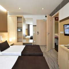 Promenade City Hotel Будапешт комната для гостей фото 4