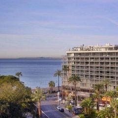 Отель Le Meridien Nice Франция, Ницца - 11 отзывов об отеле, цены и фото номеров - забронировать отель Le Meridien Nice онлайн пляж фото 2
