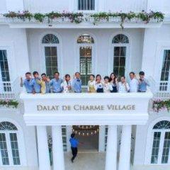 Отель Dalat De Charme Village Resort Далат приотельная территория фото 2