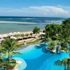 Отель Nikko Bali Benoa Beach Индонезия, Бали - отзывы, цены и фото номеров - забронировать отель Nikko Bali Benoa Beach онлайн пляж фото 2