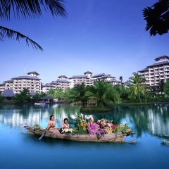 Отель Maritime Park And Spa Resort Нуа-Клонг приотельная территория