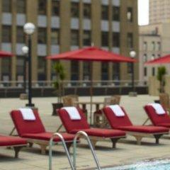 Отель Renaissance Columbus Downtown Hotel США, Колумбус - отзывы, цены и фото номеров - забронировать отель Renaissance Columbus Downtown Hotel онлайн бассейн фото 2
