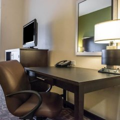 Отель Comfort Suites Lake City Лейк-Сити удобства в номере