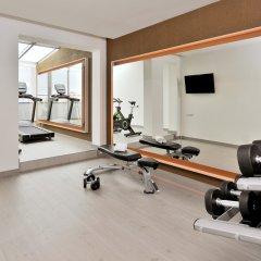 Отель Hesperia A Coruña Centro фитнесс-зал