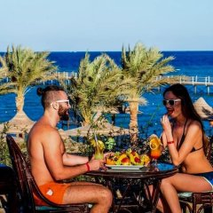 Апартаменты Apartment At Nubia Aqua Beach Resort пляж