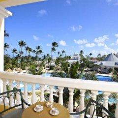 Отель Luxury Bahia Principe Esmeralda - All Inclusive Доминикана, Пунта Кана - 10 отзывов об отеле, цены и фото номеров - забронировать отель Luxury Bahia Principe Esmeralda - All Inclusive онлайн балкон