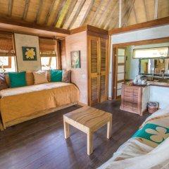 Отель Green Lodge Moorea Французская Полинезия, Папеэте - отзывы, цены и фото номеров - забронировать отель Green Lodge Moorea онлайн комната для гостей фото 2