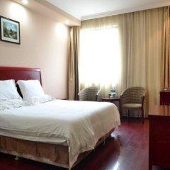GreenTree Inn Suzhou Kunshan Hill Qiandeng Hotel комната для гостей