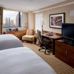 Отель New York Marriott Downtown США, Нью-Йорк - отзывы, цены и фото номеров - забронировать отель New York Marriott Downtown онлайн комната для гостей фото 3