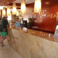 Отель Best Mediterraneo Испания, Салоу - 5 отзывов об отеле, цены и фото номеров - забронировать отель Best Mediterraneo онлайн интерьер отеля фото 3