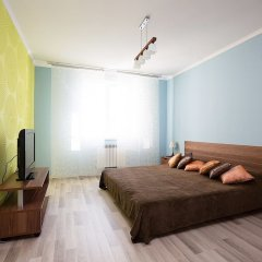 Апартаменты «Этажи Библиотечная-Комсомольская» Екатеринбург комната для гостей фото 2