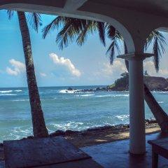 Отель Palm Villa пляж фото 2