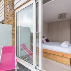 Отель Bright Family Home in Primrose Hill Великобритания, Лондон - отзывы, цены и фото номеров - забронировать отель Bright Family Home in Primrose Hill онлайн балкон